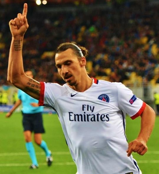 Fotbollslegenden Zlatan Ibrahimovic