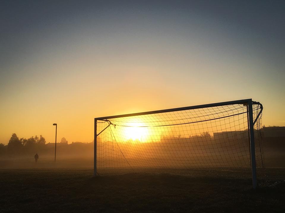 Bygg ett fotbollsmål