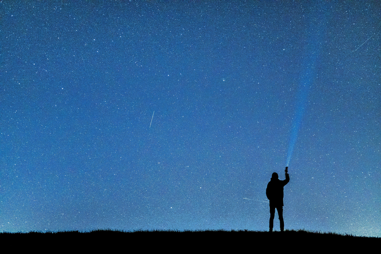 En stjärna på himlen